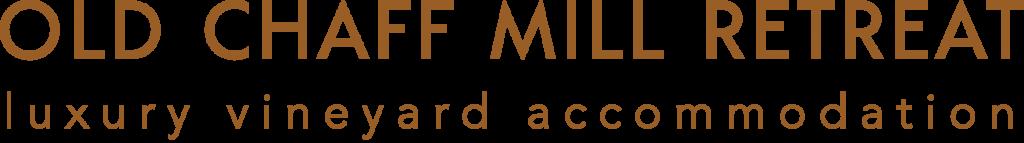 Old Chaff Mill Retreat Logo